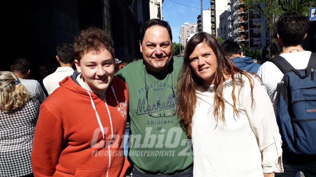 Felipe Stoessel en la instancia nacional del Parlamento Juvenil