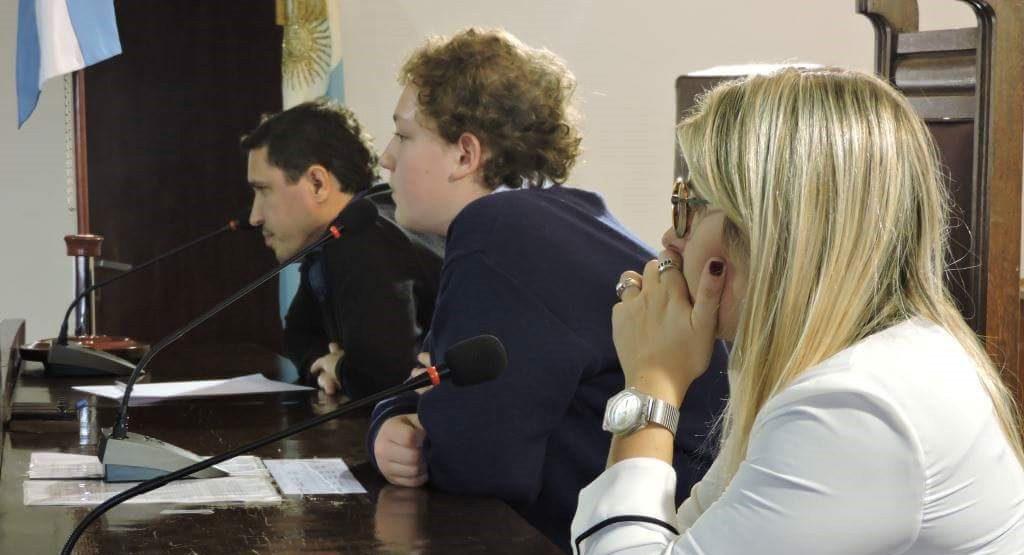 Felipe Stoessel participa de la instancia nacional del Parlamento Juvenil