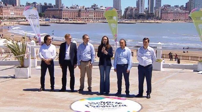Vidal presentó la temporada de verano en Mar del Plata