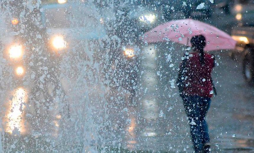 Lluvia en Carhué: Hasta las 10 van 35 mm