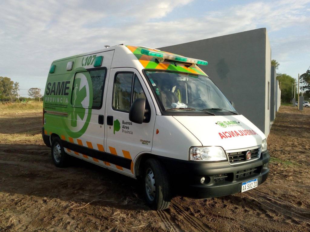 Nueva ambulancia para el hospital Loyarte de Maza