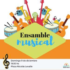 Ensambles Musicales de la Casa de la Cultura mañana en Plaza Levalle