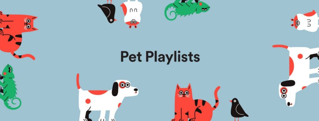 Spotify presentó playlists optimizadas para mascotas