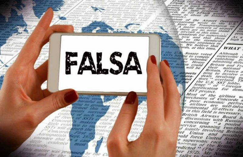 "Otra de ""fake news"""